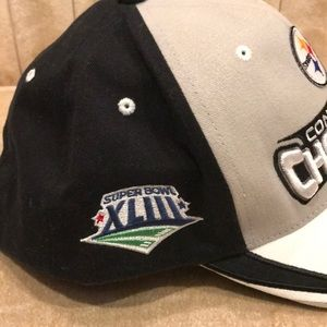 Reebok Accessories - NFL Pittsburgh Steelers Conference Champions Hat08 0221cc9f7
